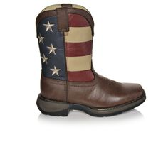 Boys' Durango Little Kid & Big Kid 8 Inch Patriotic Cowboy Boots