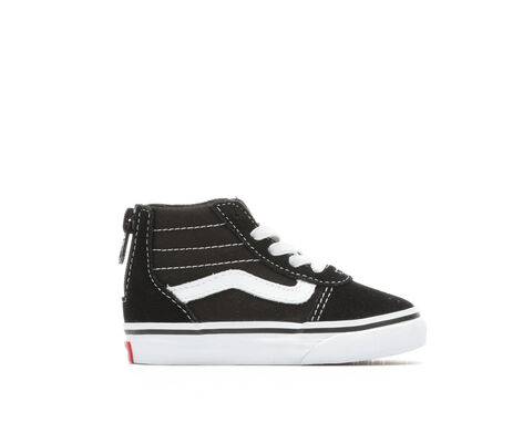Kids' Vans Infants Ward Hi Zip 4-10 High Top Skate Shoes