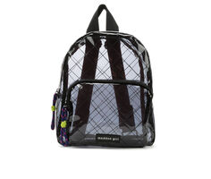 Madden Girl Handbags Clear Backpack