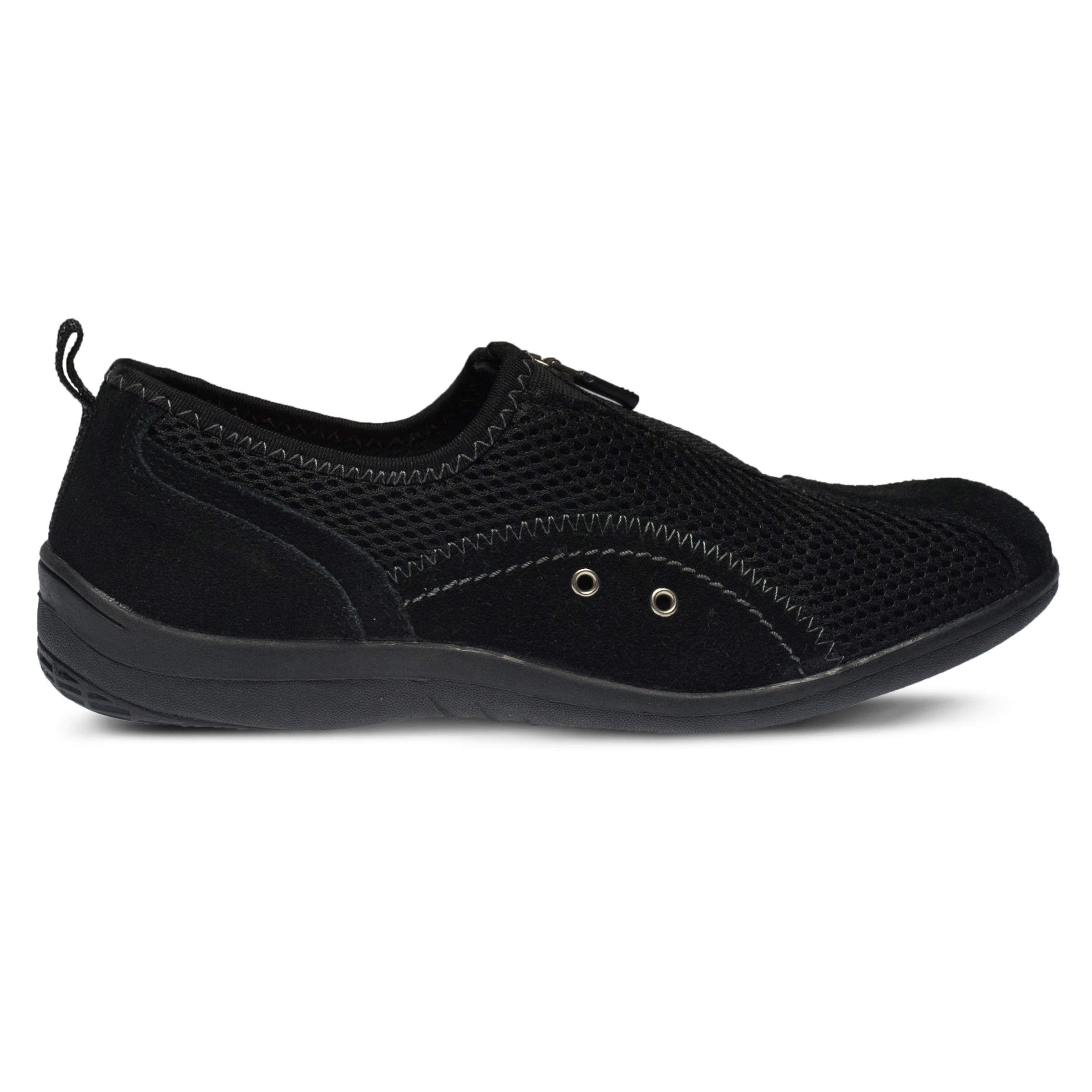 Women's SPRING STEP Racer Slip-Ons Black