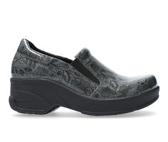 Women's Easy Works by Easy Street Appreciate Grey Floral Safety Shoes