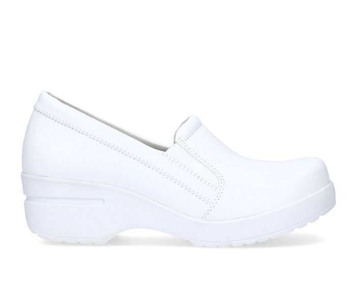 Women's Easy Works by Easy Street Lezza White Safety Shoes