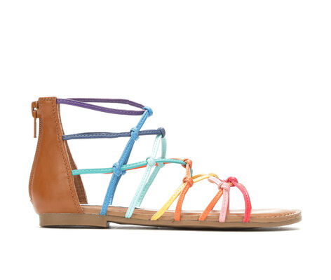 Girls' Steve Madden JCircus 11-4 Rainbow Gladiator Sandals