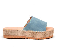 Women's Coconuts Palm Flatform Sandals