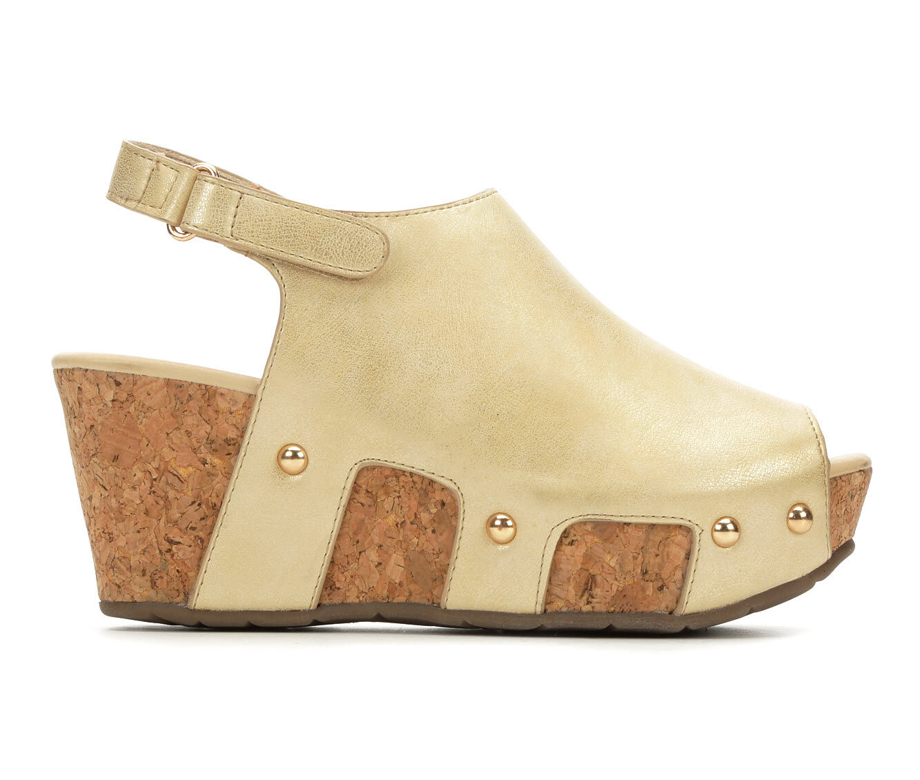 Women's Volatile Arkel Wedge Sandals Gold