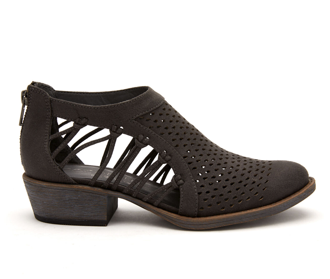 Women's Coconuts Lilah Booties Charcoal