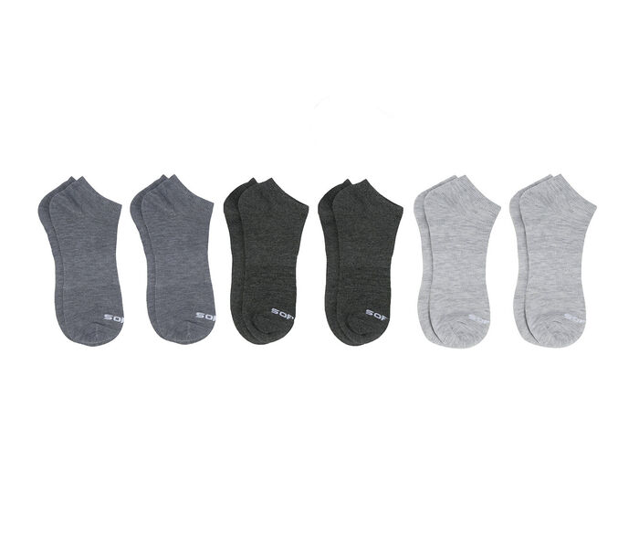 Sof Sole Socks Men's 6 Pair Lite No Show Socks
