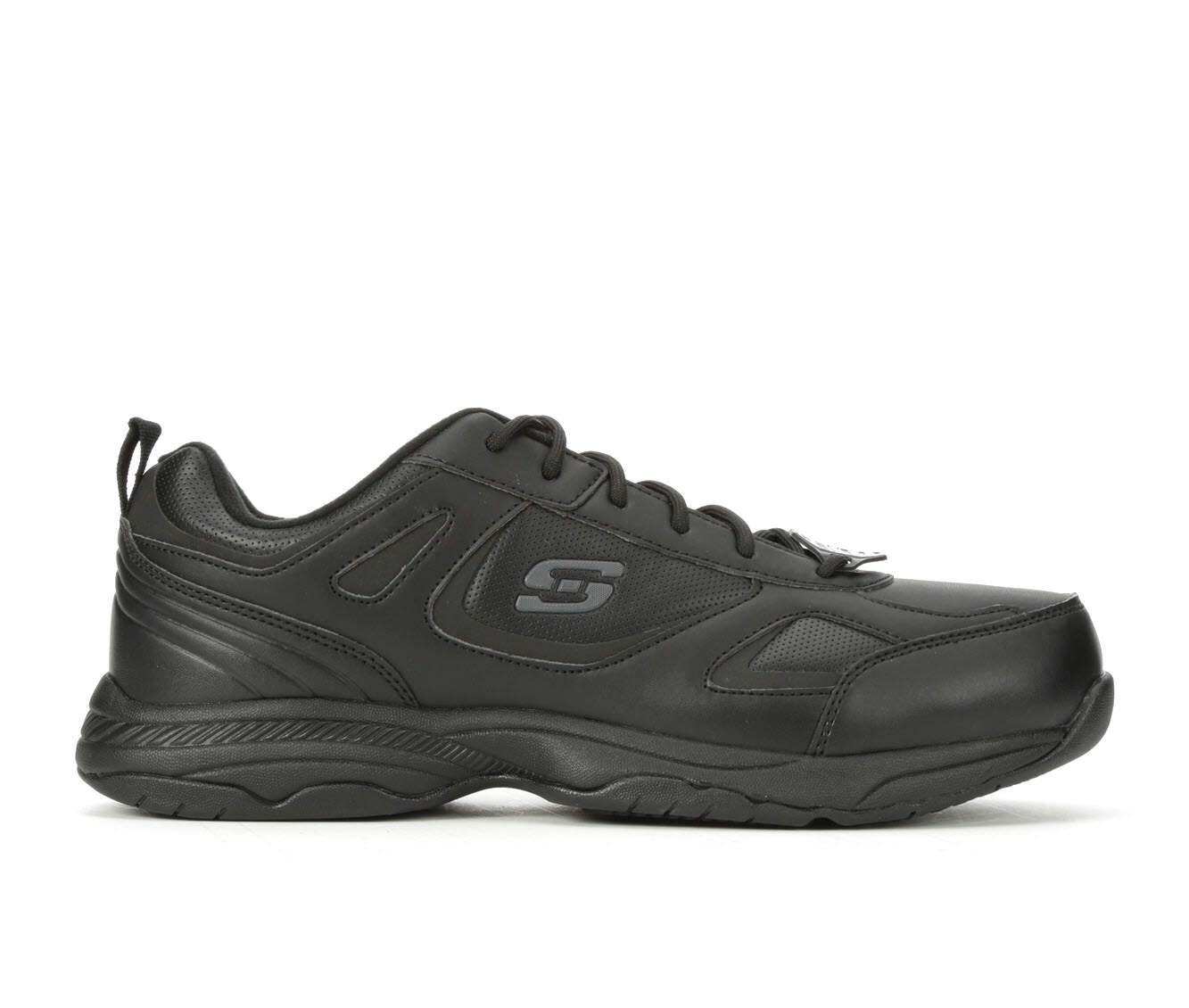Men's Skechers Work Dighton 77111 Slip Resistant Shoes Black