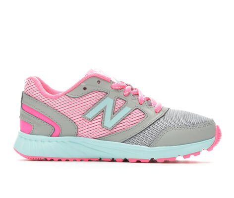 Girls' New Balance KR455GPY 10.5-7 Running Shoes