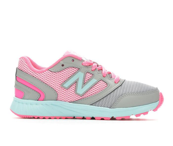 Girls' New Balance KR455GPY 10.5-7 Running Shoes