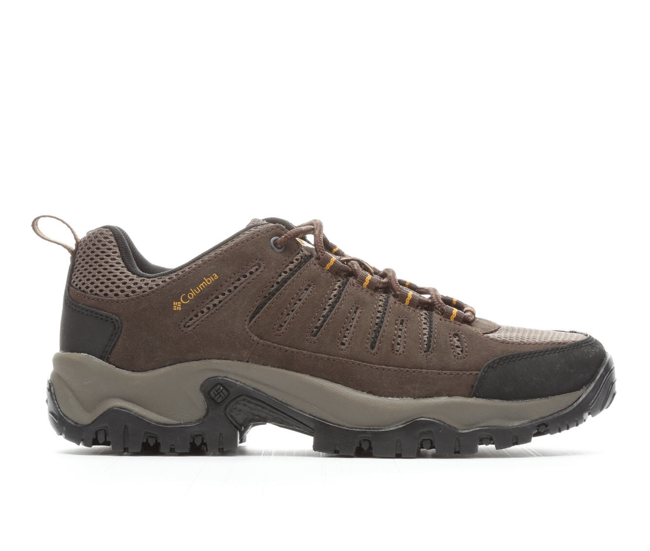 Men's Columbia Lakeview II Low Hiking Boots Cordovan/Mud