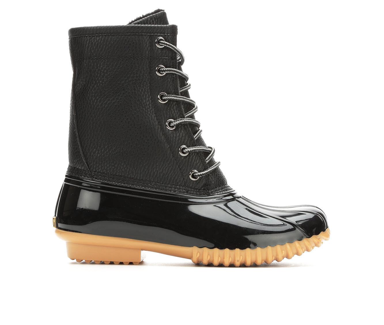 Women's Sporto Dakota Duck Boots Black/Black
