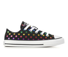Girls' Converse Little Kid & Big Kid CTAS Foil Star Ox Sneakers