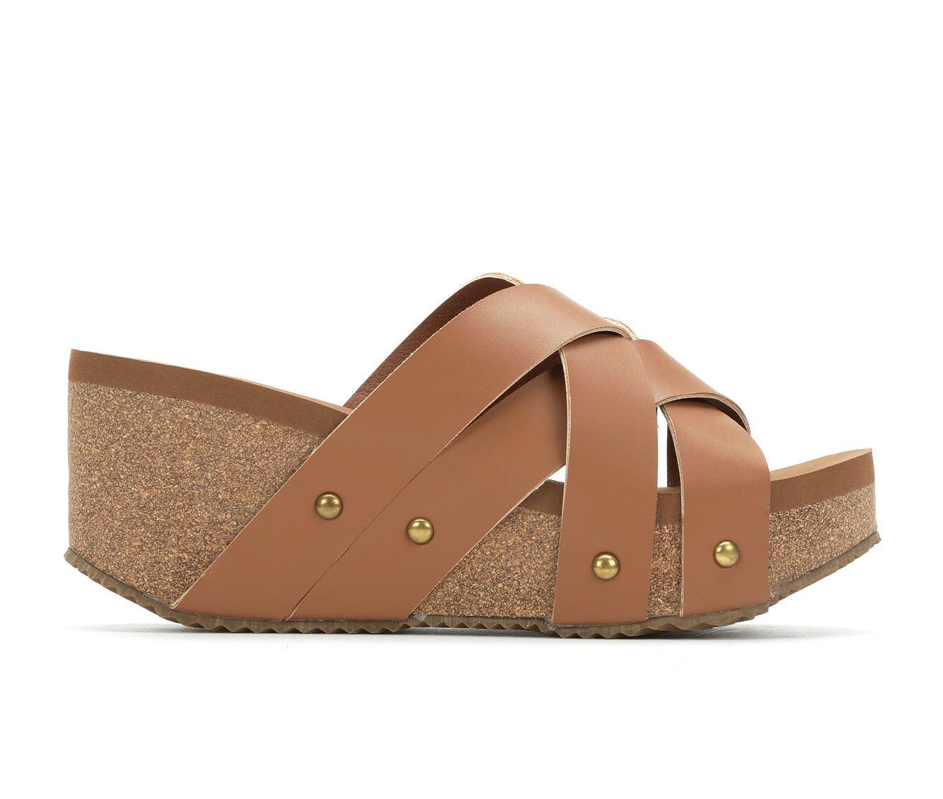 choose cheap best quality Women's Volatile Costner Platform Sandals Cognac
