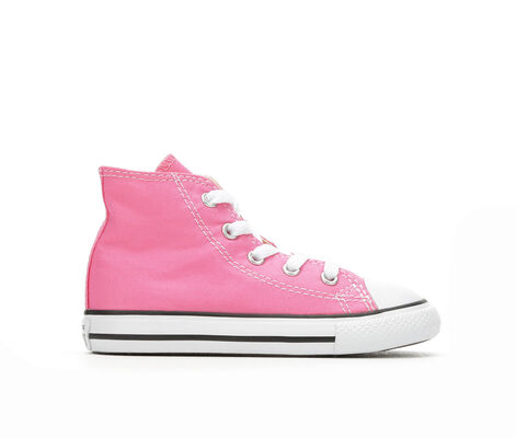 Girls' Converse Infant Chuck Taylor All Star Canvas High Top Sneakers