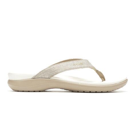 Women's Crocs Capri V Shimmer Fl W Flip-Flops