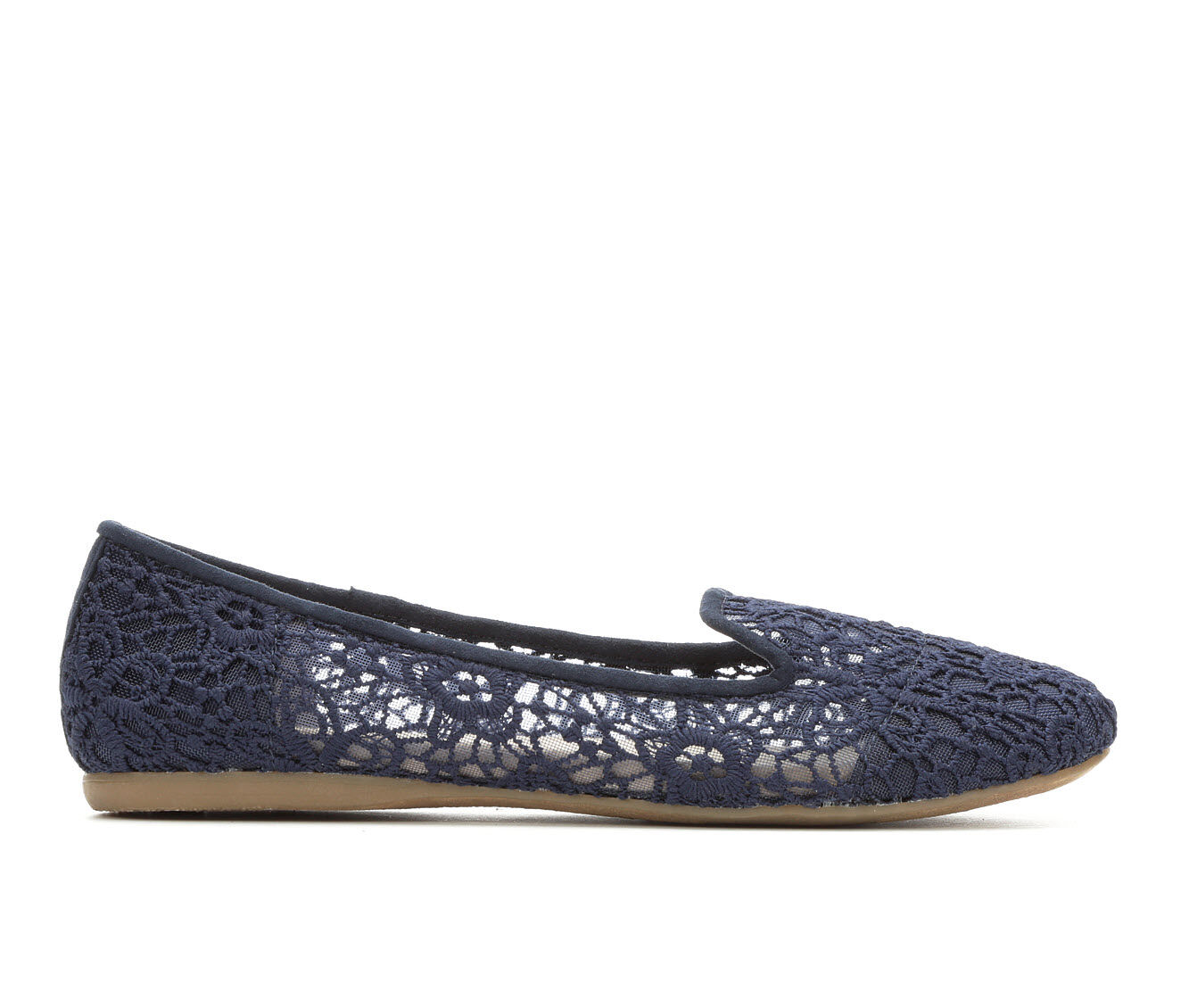 Women's Jellypop Cassian Flats Navy Lace