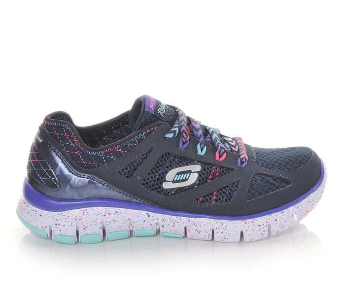 Girls' Skechers S-Flex-Fashion Play 10.5-6 Running Shoes