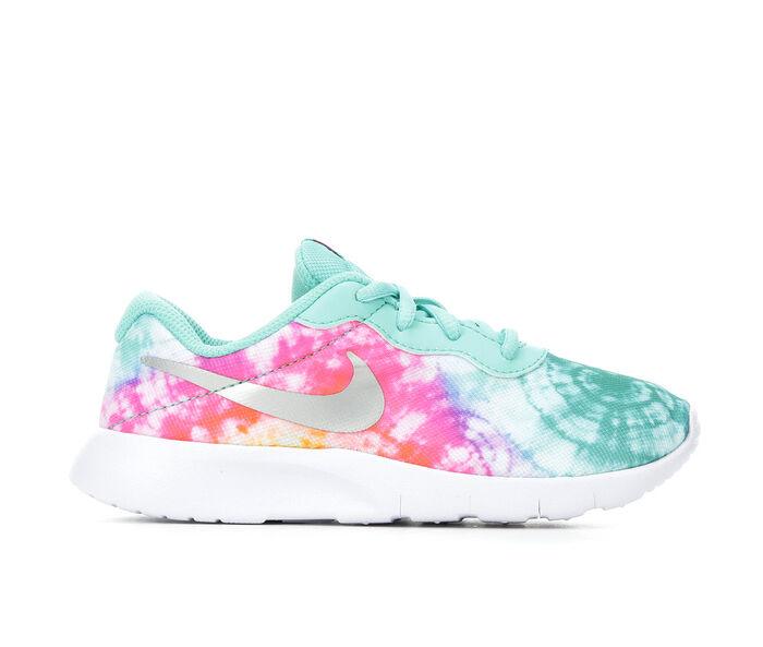 Girls' Nike Little Kid Tanjun Print Running Shoes