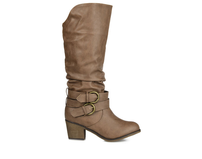 Women's Journee Collection Late Wide Calf Knee High Boots
