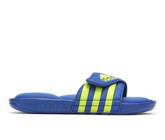 Boys' Adidas Little Kid & Big Kid Adissage Comfort Sport Slides