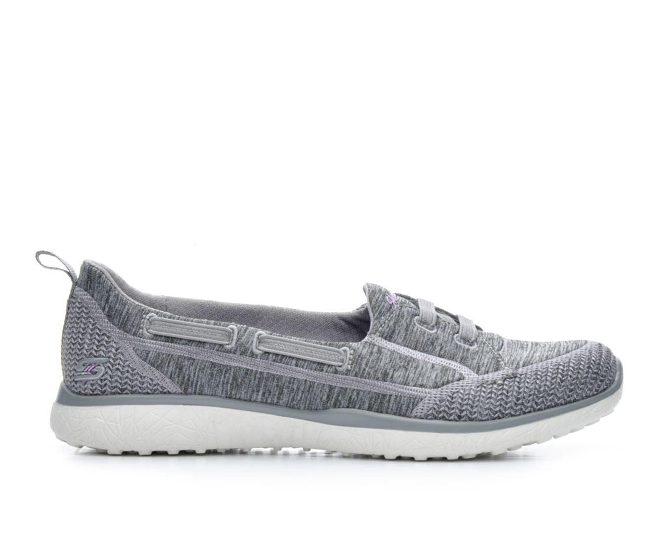 Skechers Womens Shoes Grey (Size: 7 1/2)