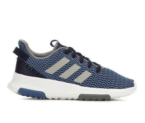 Boys' Adidas Cloudfoam Racer TR K 10.5-7 Running Shoes