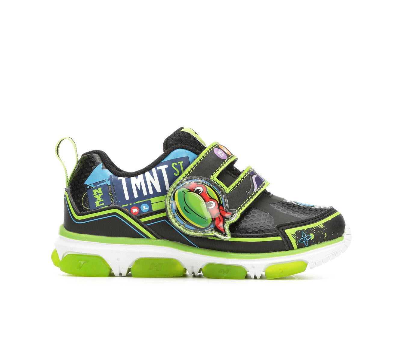 Boys' Nickelodeon Toddler & Little Kid TMNT 7 Light Up Sneakers