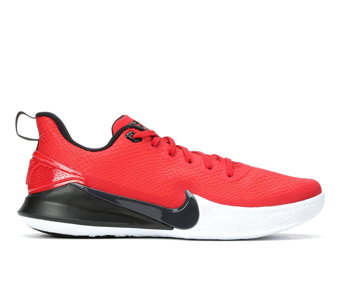 Men's Nike Mamba Rage Basketball Shoes Red/Blk/Wht 600