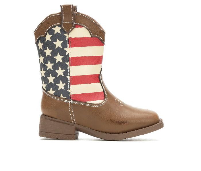 Kids' Natural Steps Toddler & Little Kid Stripes Cowboy Boots