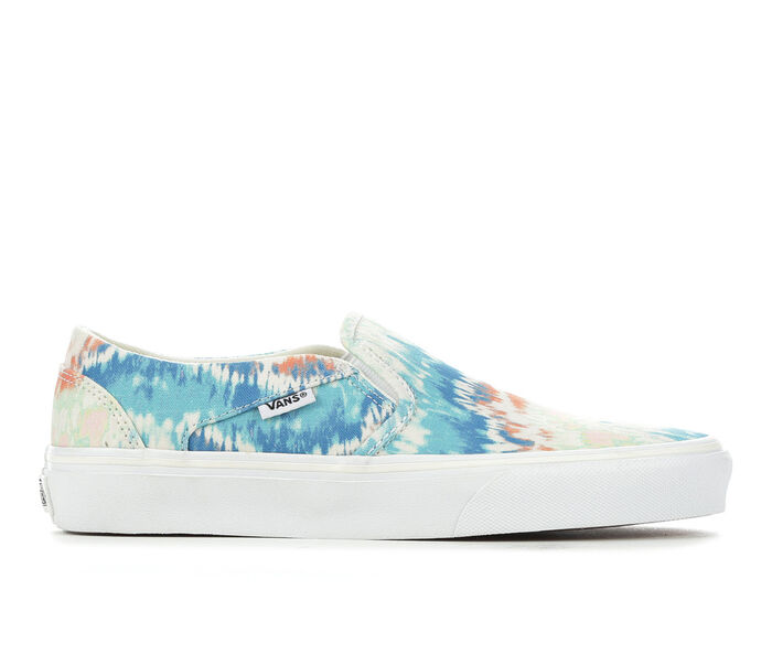 Women's Vans Asher Tie Dye Skate Shoes