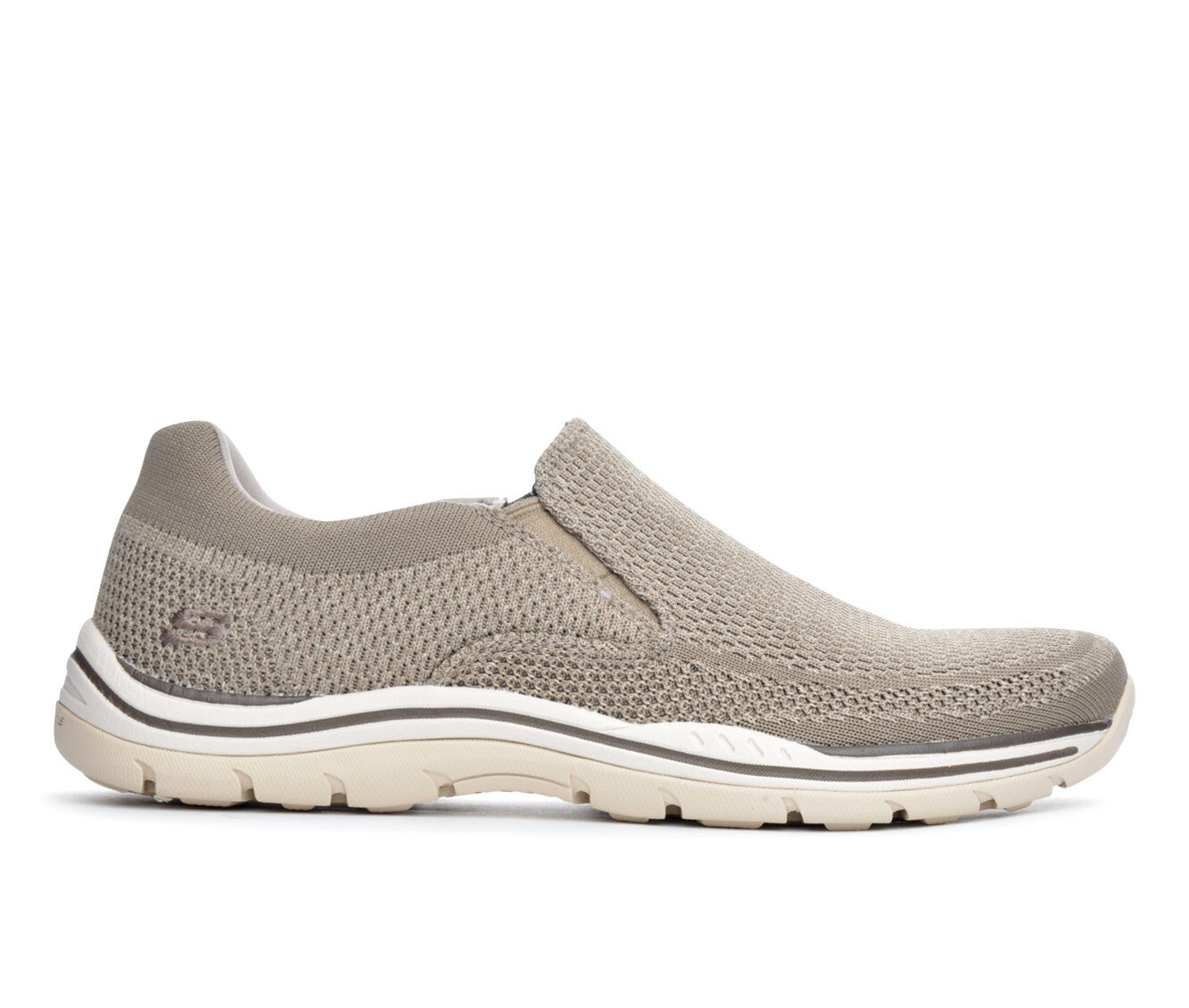 Men's Skechers Gomel 65086 Casual Shoes Taupe