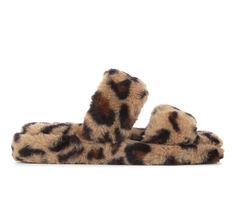Soda Corset Fuzzy Sandals