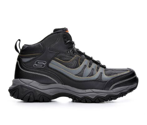 Men's Skechers Work Rebem 77108 Steel Toe Work Boots