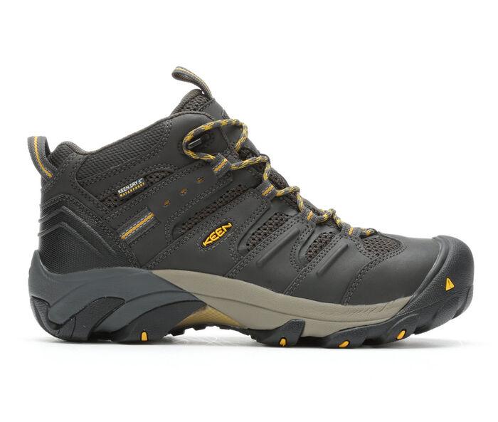 Men's KEEN Utility Lansing Mid Steel Toe Waterproof Work Boots