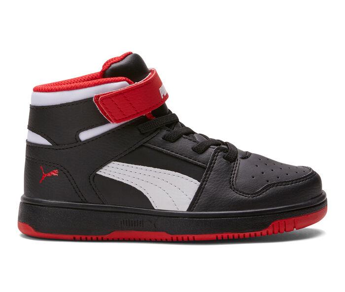 Boys' Puma Little Kid Rebound Layup Basketball Shoes