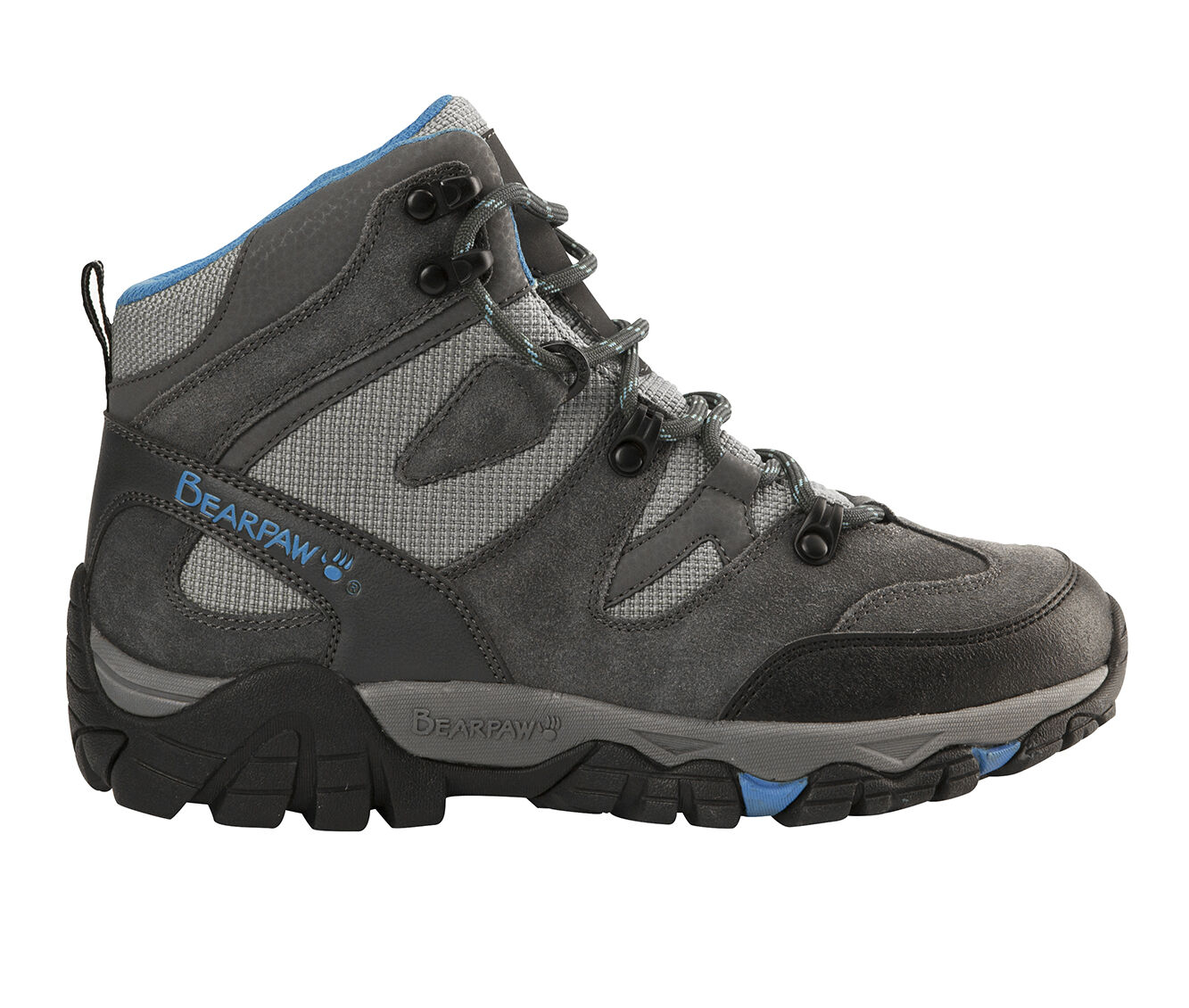 Women's Bearpaw Corsica Hiking Boots Charcoal