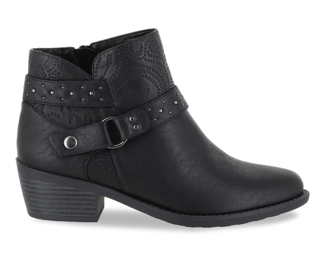 Women's Easy Street Leda Booties Black