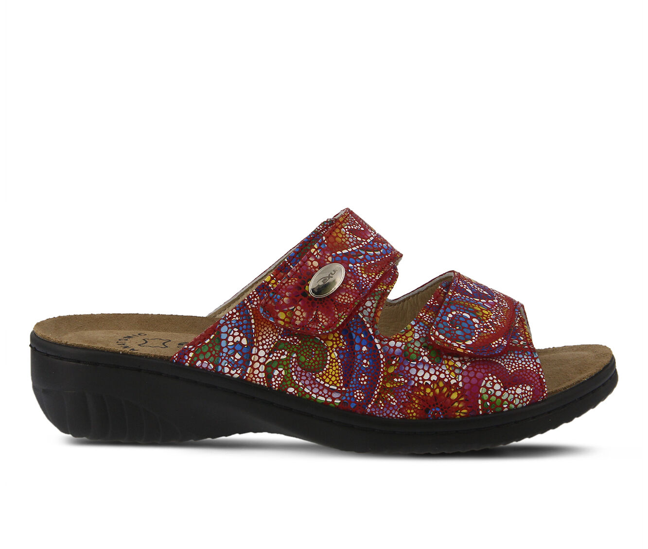 Quite Cool Women's FLEXUS Bellasa Sandals Red Multi