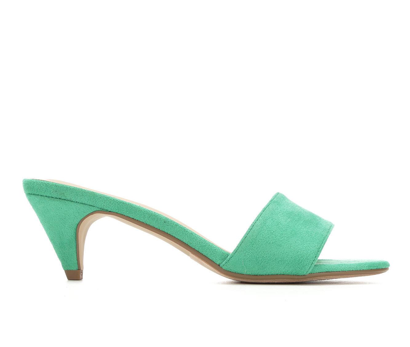 Women's City Classified Dodder Dress Sandals Emerald