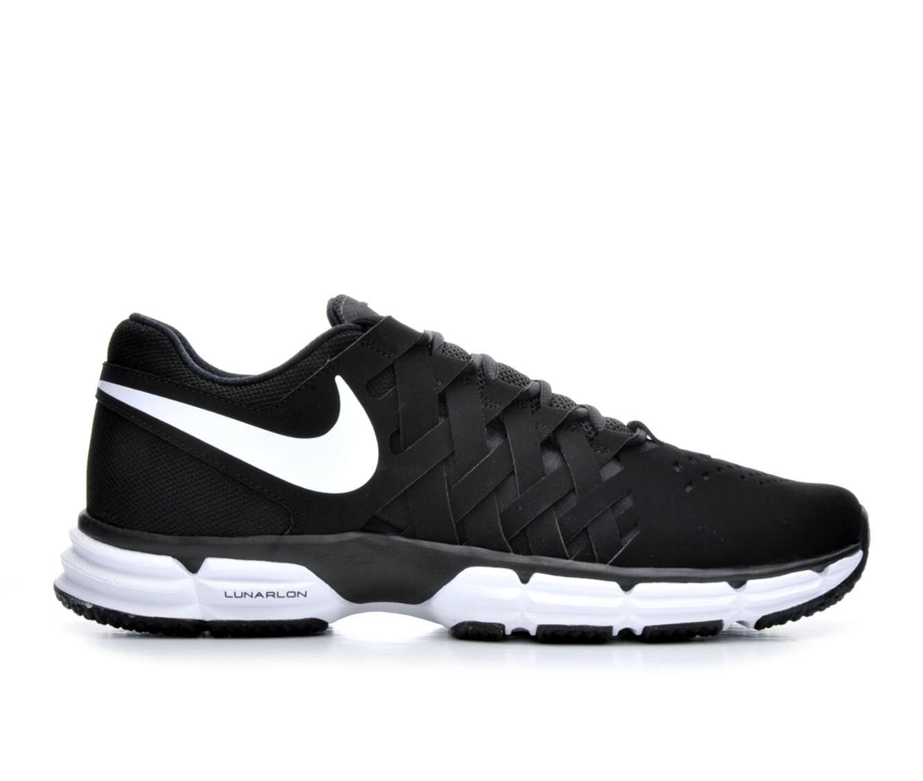 Men's Nike Lunar Fingertrap Training Shoes Blk/Wht 001