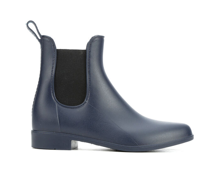 Women's Capelli New York Matte Opaque Chelsea Rain Boots