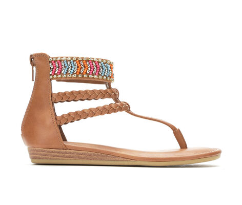 Girls' Rampage Natalie 11-5 Beaded Gladiator Sandals