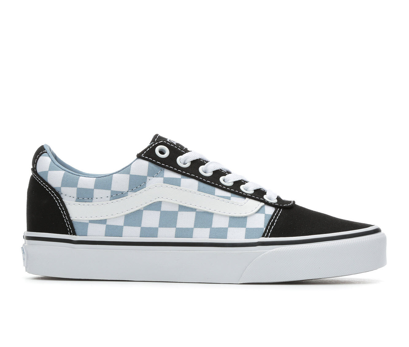 Women's Vans Ward Skate Shoes Blk/Blue Fog