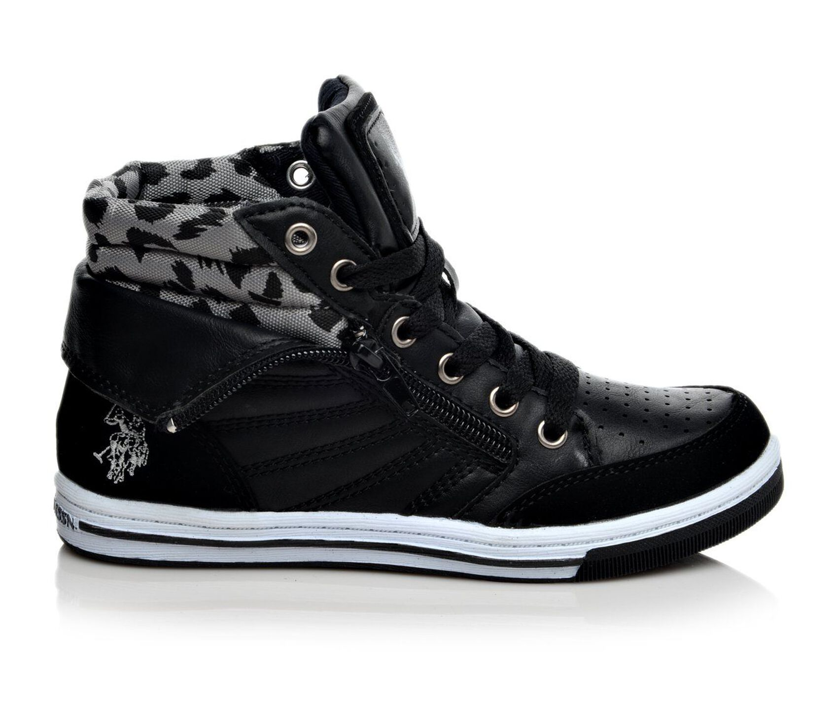 girls 39 us polo assn genie 11 4 sneakers. Black Bedroom Furniture Sets. Home Design Ideas