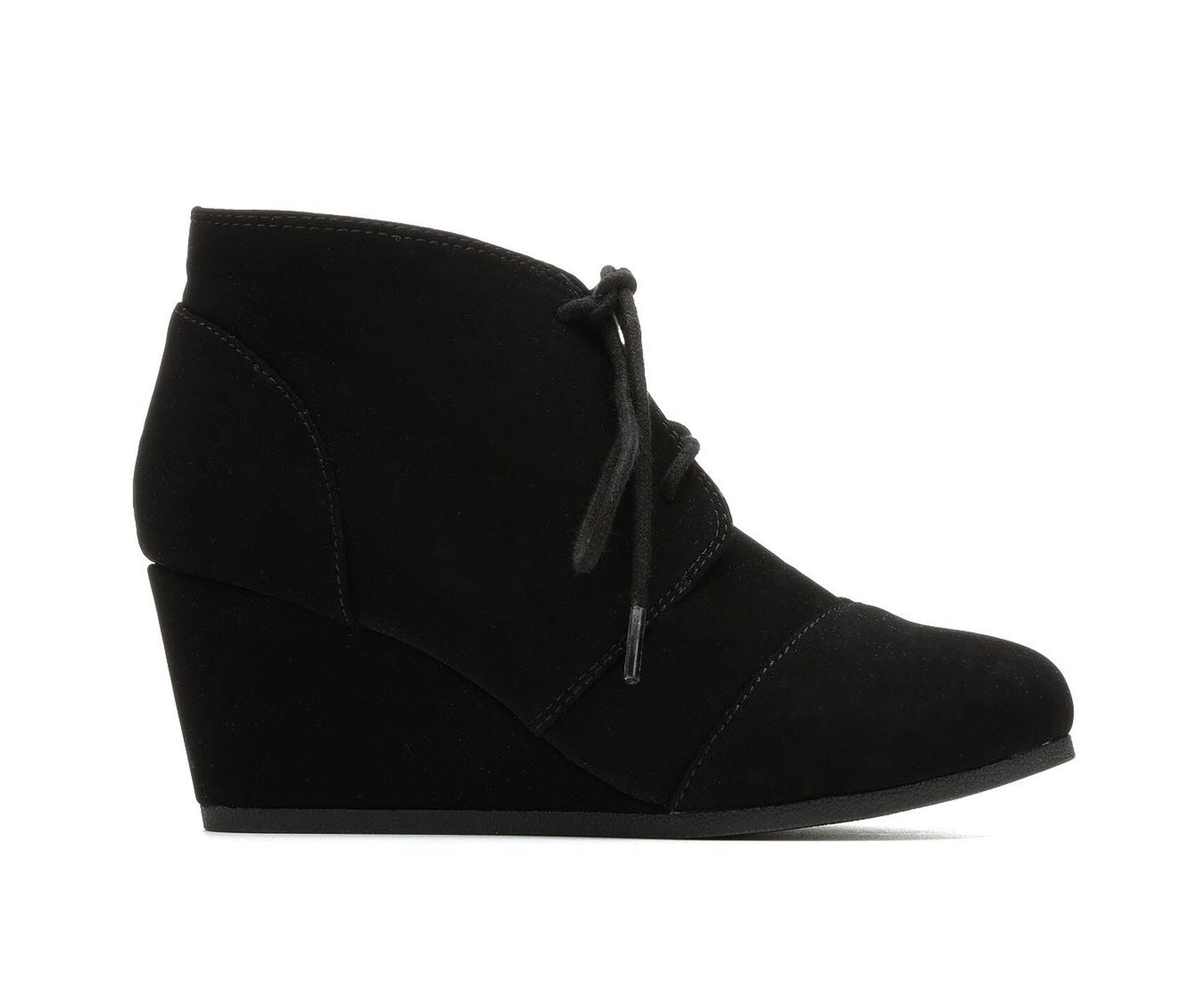 Black Wedge Heels Shoe Carnival