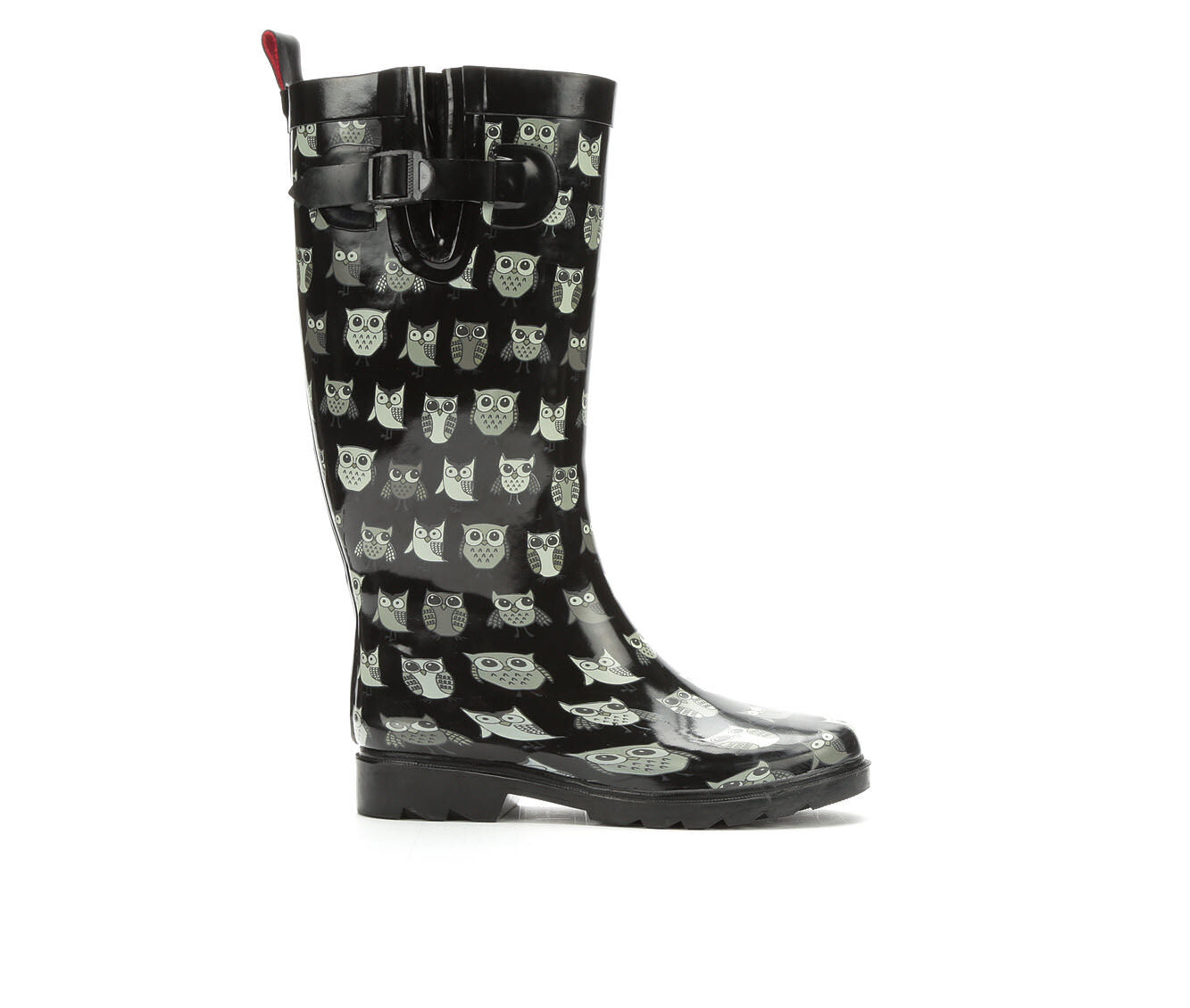 Women's Capelli New York Pop Owls Rain Boots Multi Combo