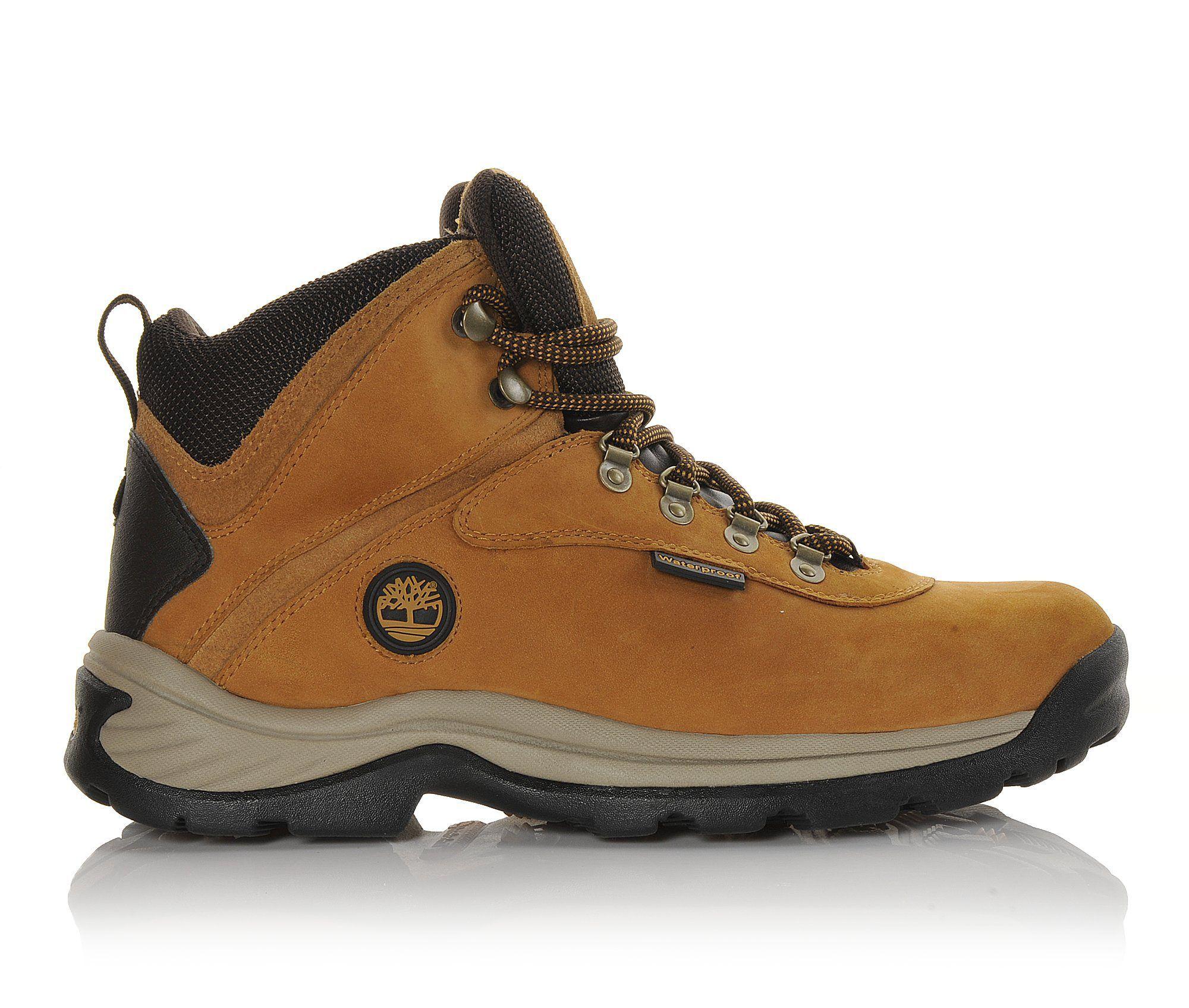 Men's Timberland White Ledge Waterproof Hiking Boots Wheat