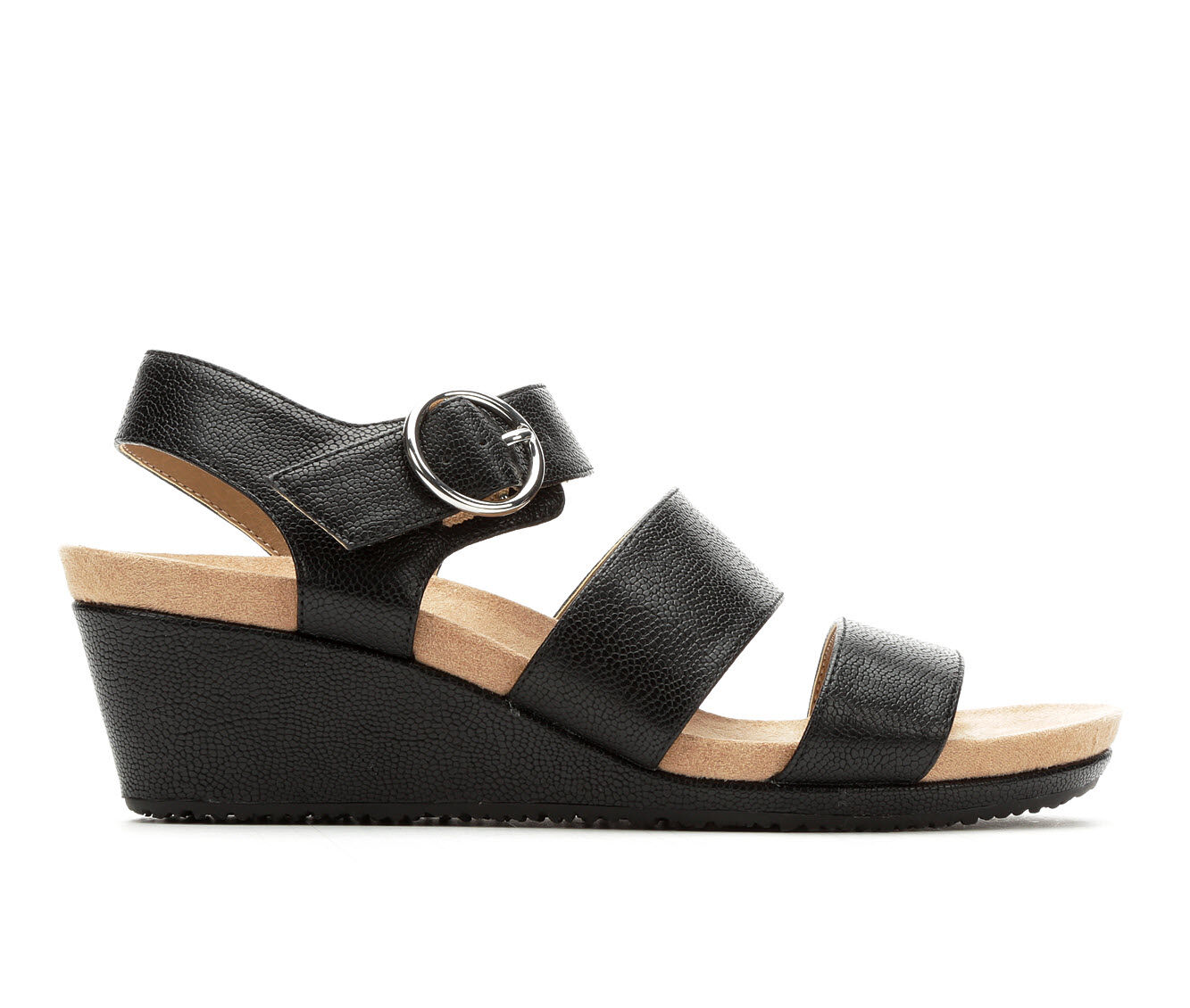 Women's LifeStride Muse Wedges Black
