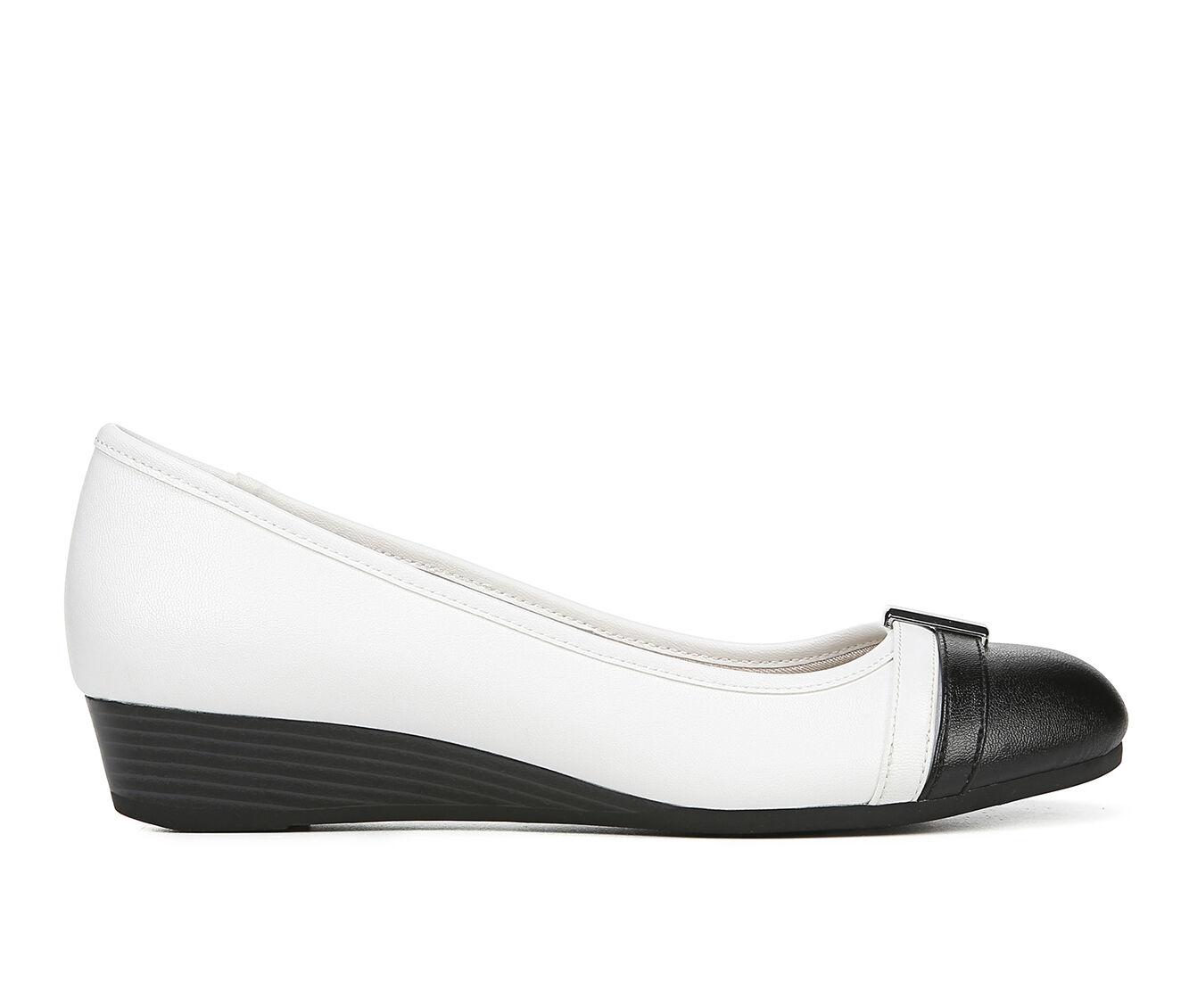 Top Quality Women's LifeStride Frances Shoes Black / White